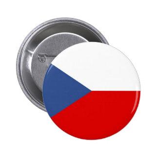 República Checa Pin Redondo De 2 Pulgadas