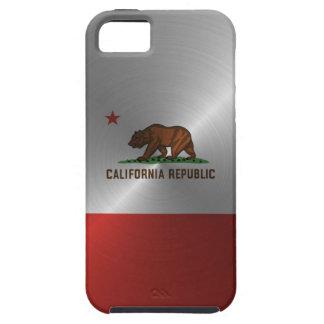 República de acero de California iPhone 5 Carcasas