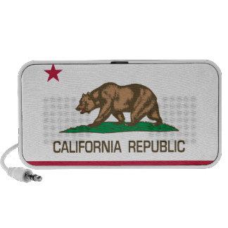 República de California (bandera del estado) Mp3 Altavoces