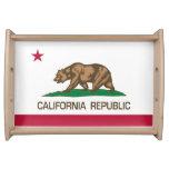 República de California (bandera del estado) Bandeja