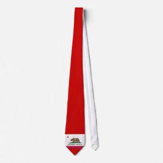 República de California (bandera del estado) Corbatas Personalizadas