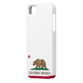 República de California bandera del estado iPhone 5 Case-Mate Cárcasa