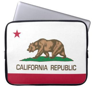 República de California (bandera del estado) Fundas Computadoras