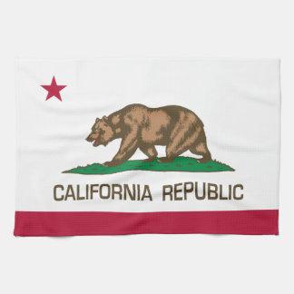 República de California (bandera del estado) Toallas
