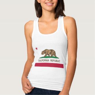 República de California (bandera del estado) Playera Con Tirantes