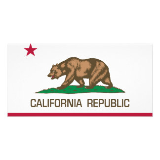 República de California (bandera del estado) Tarjeta Personal