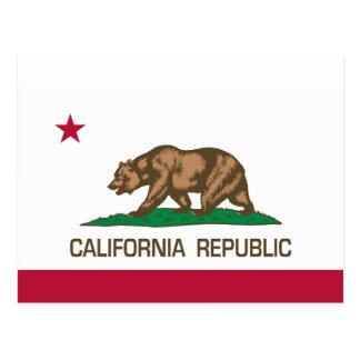 República de California (bandera del estado) Postal