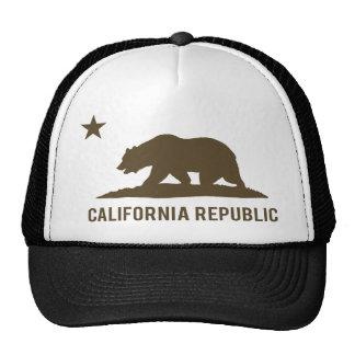 República de California - básica - Brown Gorras De Camionero