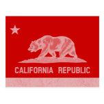 República de California (blanca) Postal