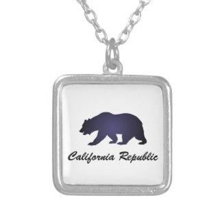 República de California Colgante Cuadrado