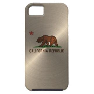 República de California del oro iPhone 5 Case-Mate Funda