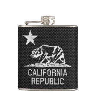 República de California en la impresión de la fibr