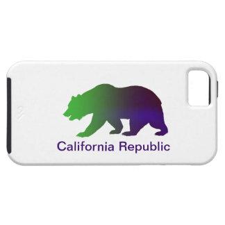 República de California Funda Para iPhone 5 Tough