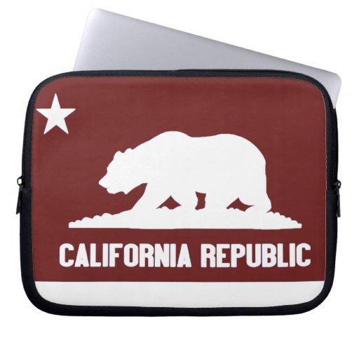 República de California Fundas Ordendadores