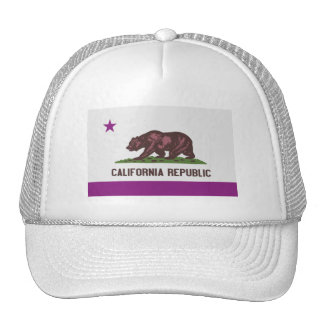República de California Gorros Bordados