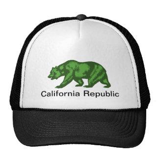 República de California Gorro De Camionero