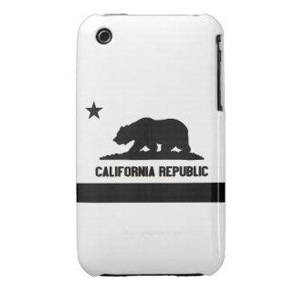 República de California iPhone 3 Case-Mate Protector