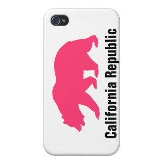 república de California iPhone 4 Carcasas