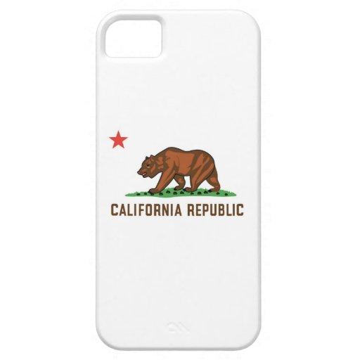 República de California iPhone 5 Funda