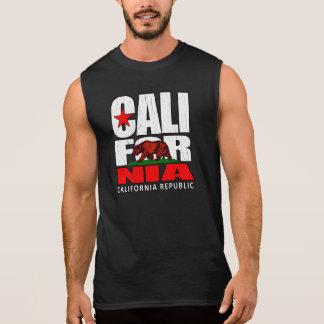 República de California (mirada apenada vintage) Camisetas Sin Mangas