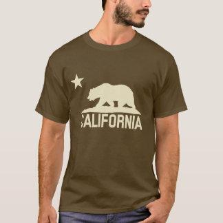 República de California - oso de CA - silueta Playera