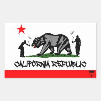 República de California Rectangular Altavoces