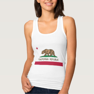 República de California Playera Con Tirantes