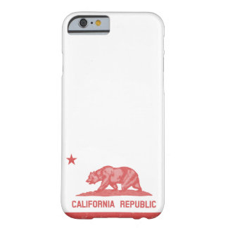 República de California roja Funda De iPhone 6 Slim