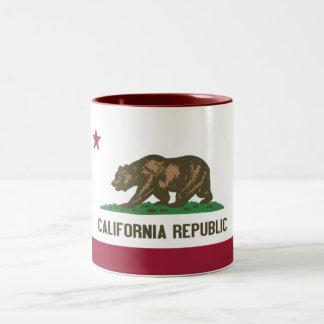 República de California Taza De Dos Tonos