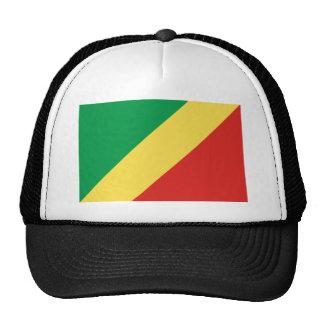 república de Congo Gorros Bordados