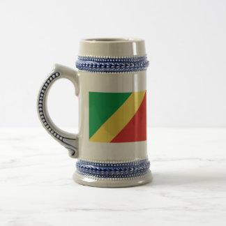 república de Congo Jarra De Cerveza