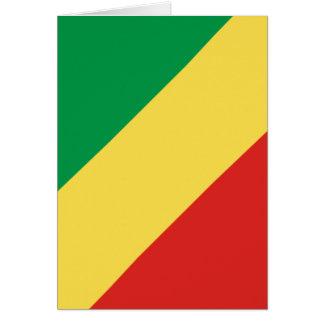 república de Congo Tarjetón
