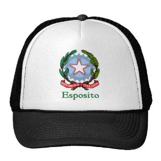 República de Esposito de Italia Gorras De Camionero