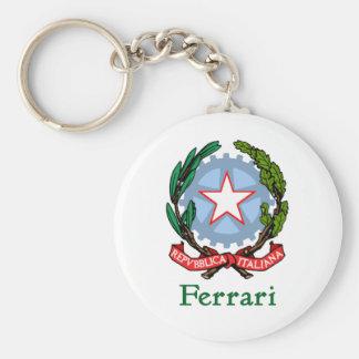 República de Ferrari de Italia Llavero Redondo Tipo Pin