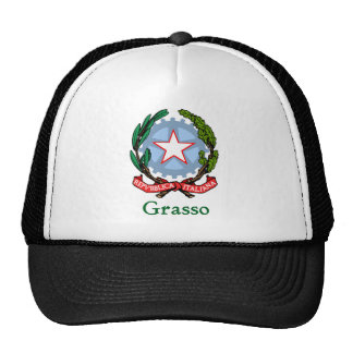 República de Grasso de Italia Gorras De Camionero
