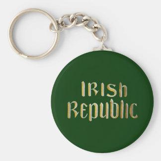 República de Irlanda Llavero Personalizado