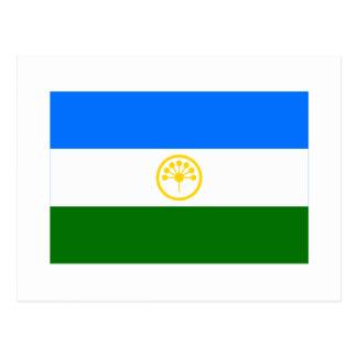 República de la bandera de Bashkortostan Postal