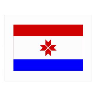 República de la bandera de Mordovia Postales