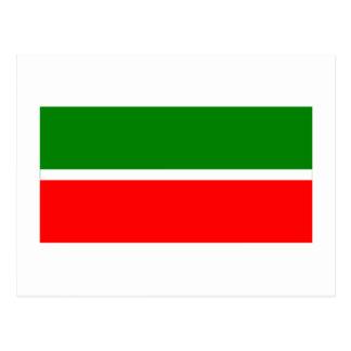 República de la bandera de Tartaristán Tarjetas Postales