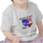 República de la fiesta del té de Tejas Camisetas