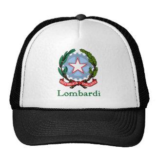 República de Lombardi de Italia Gorros Bordados