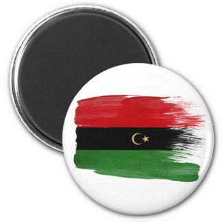 República de los imanes de la bandera de Libia Imán Redondo 5 Cm