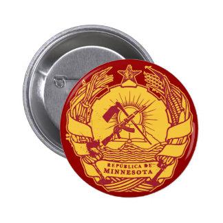 Republica de Minnesota 2 Inch Round Button