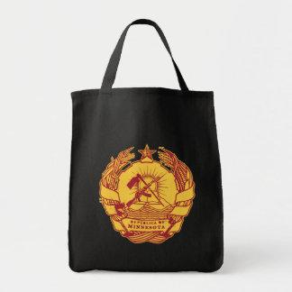 Republica de Minnesota Grocery Tote Bag