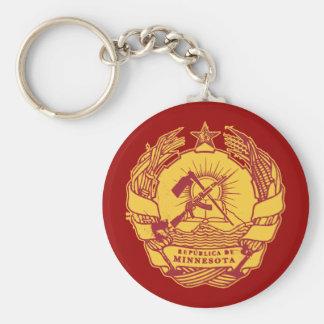 Republica de Minnesota Keychain