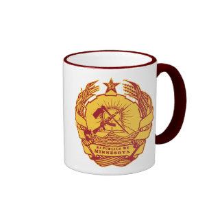 Republica de Minnesota Ringer Coffee Mug