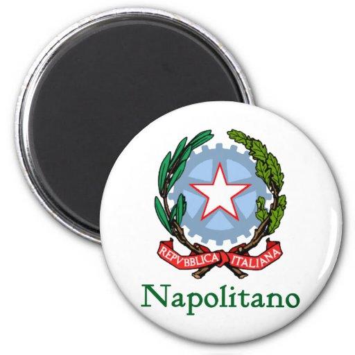 República de Napolitano de Italia Imán Redondo 5 Cm