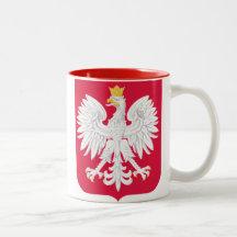 República de Polonia de la taza de Polonia