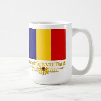 República de República eo Tchad (árabe) Taza De Café