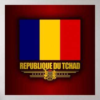 República de República eo Tchad Póster
